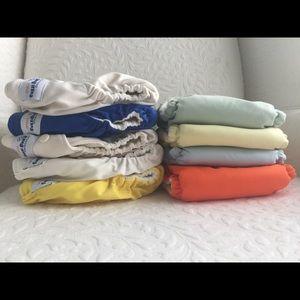 Fuzzibunz Pocket Diapers Size Small